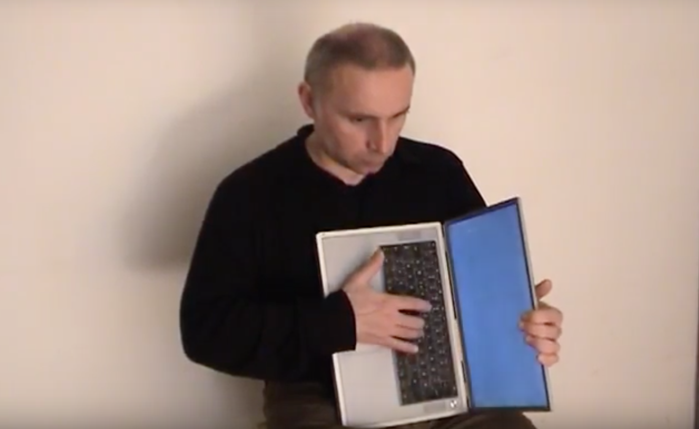 Hans W. Koch performing Bandoneonbook for laptop