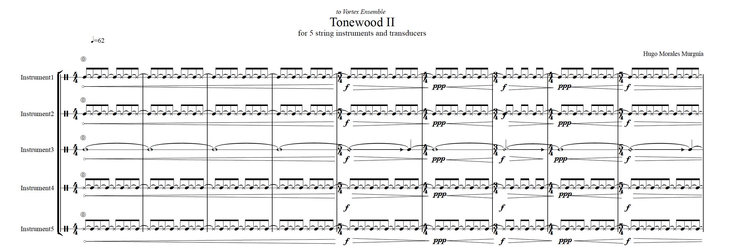Tonewood Hugo Morales