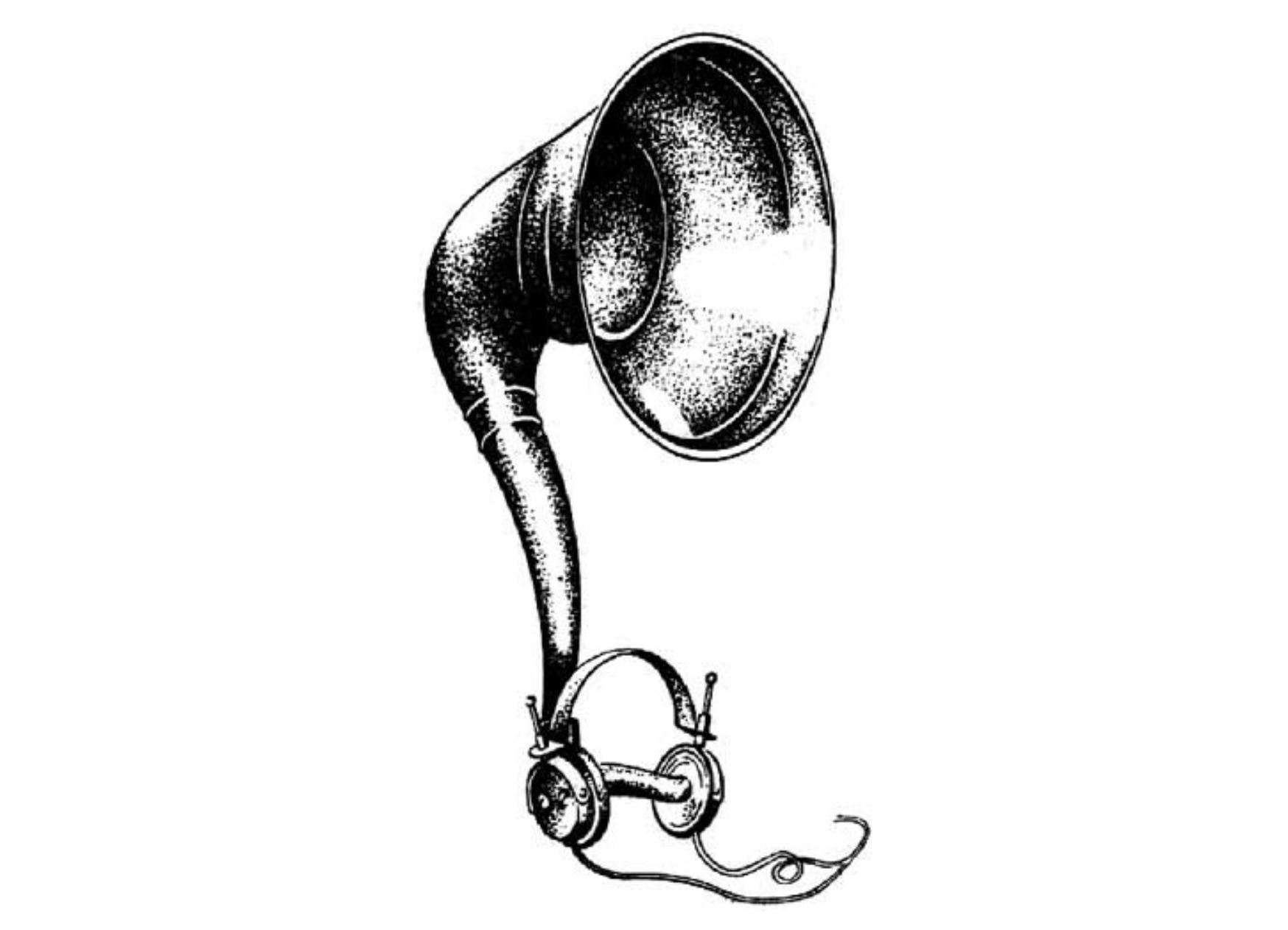 Horn loudspeaker 1925
