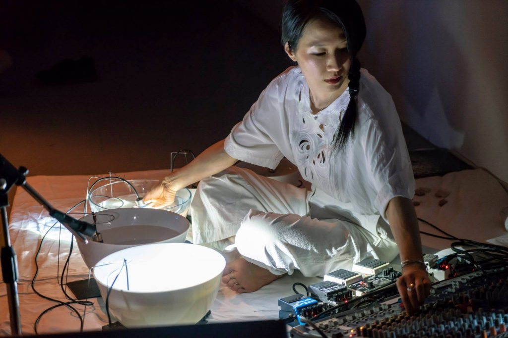 hydrophone synthesiser by Tomoko Sauvage