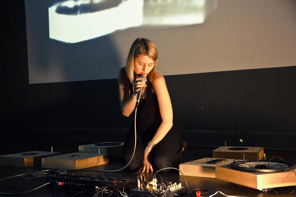 Lesley Flanigan Speaker Feedback Instruments