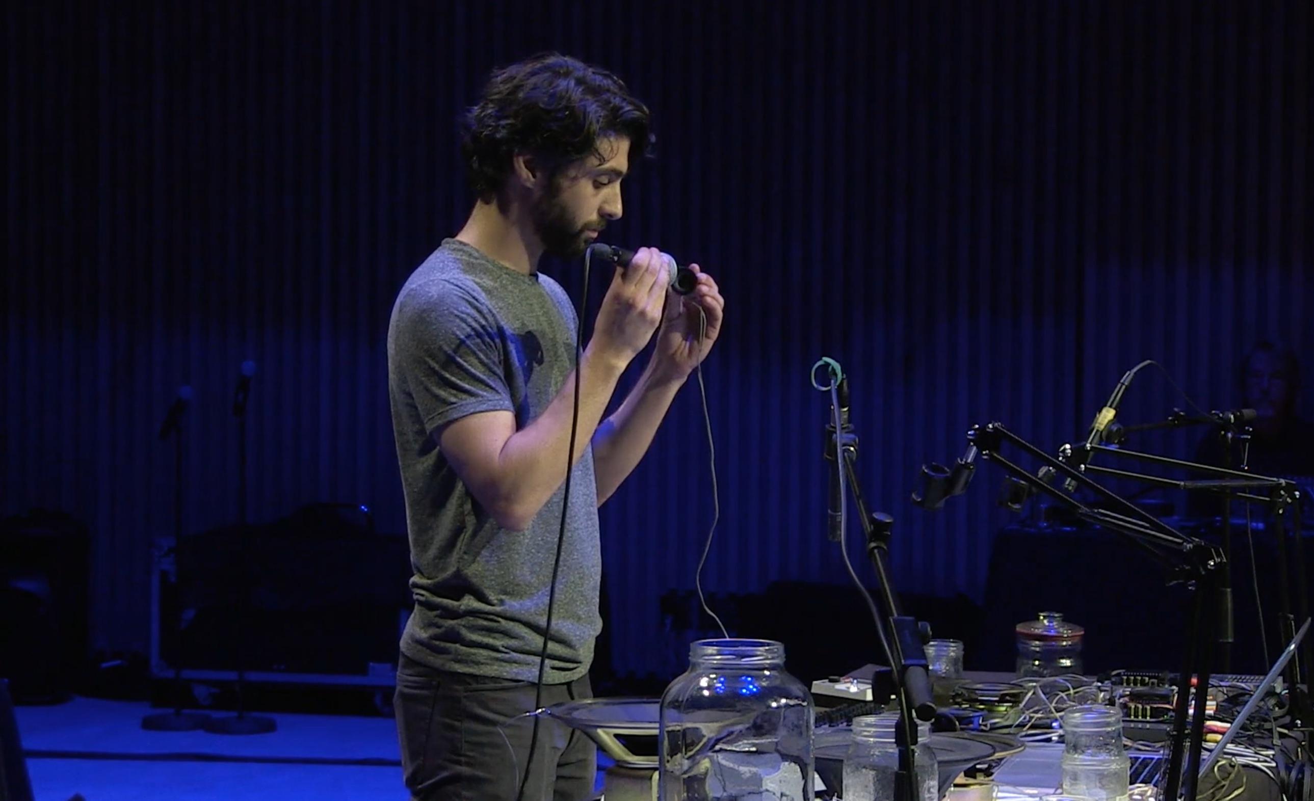 Adam Basanta performs Small Movements.