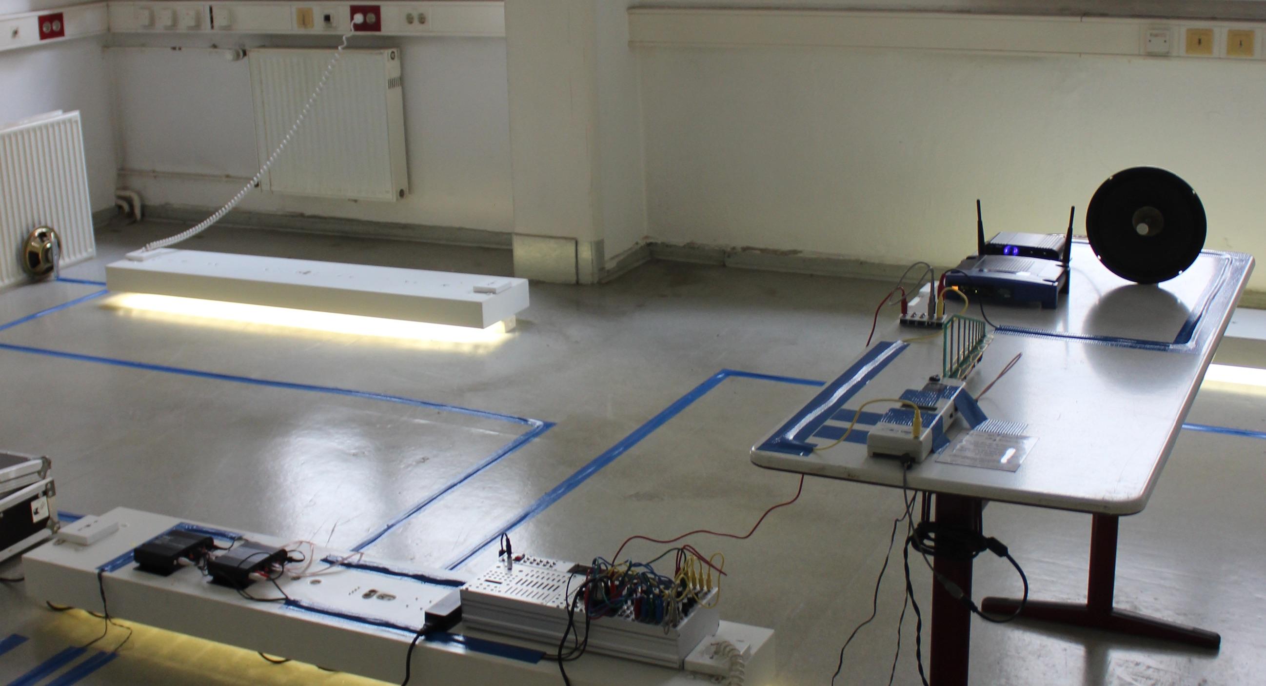 Acoustic Radiator prepared speakers electromagnetic spectrum